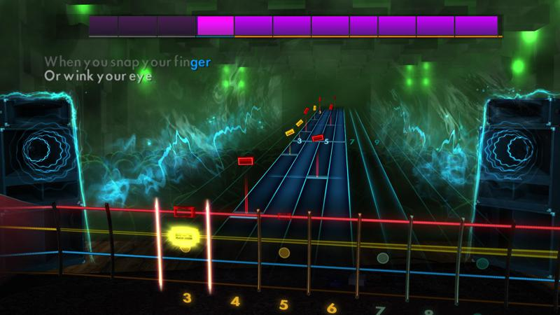 Rocksmith: All-new 2014 Edition - Four Tops: I Can't Help Myself (Sugar Pie Honey Bunch) Screenshot