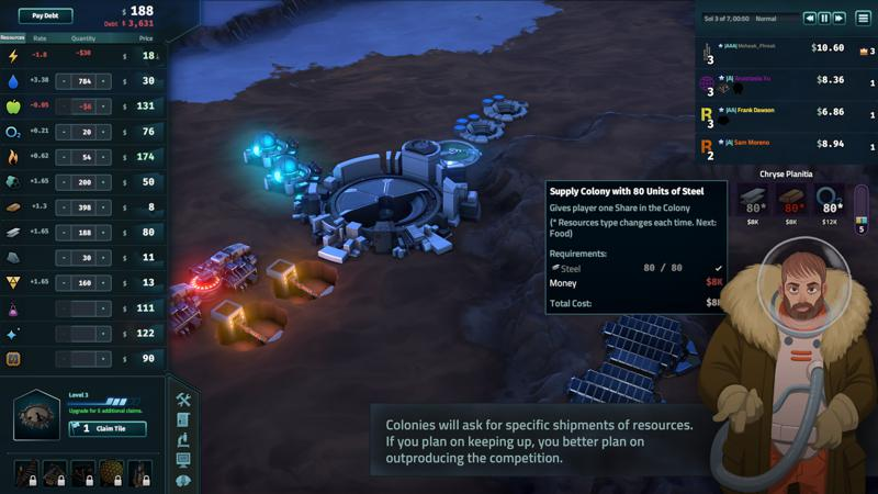 Offworld Trading Company: The Patron and the Patriot Screenshot