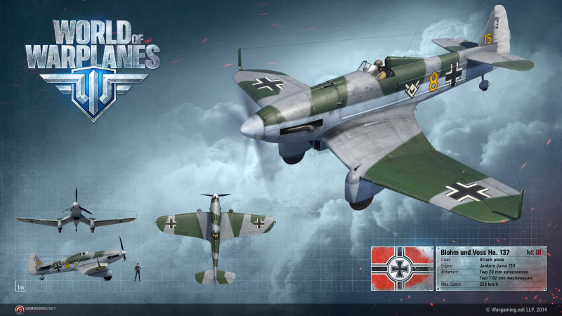 World of Warplanes Render