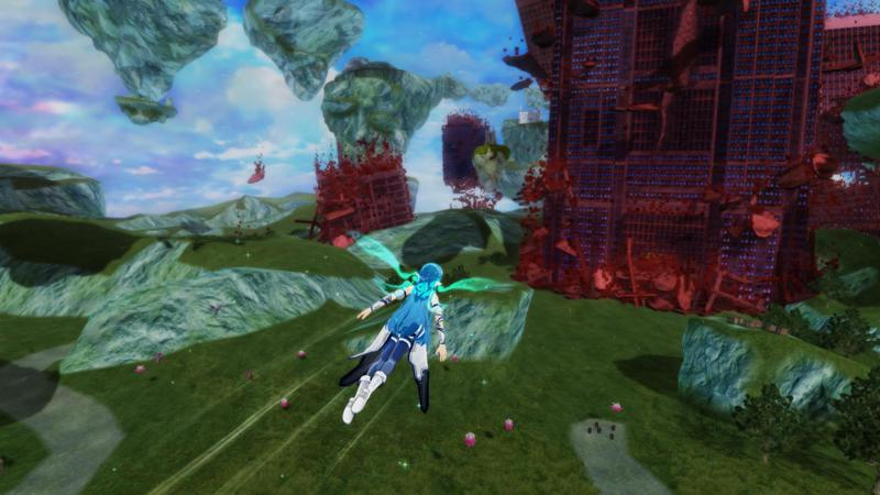 Accel World VS. Sword Art Online: Deluxe Edition Screenshot