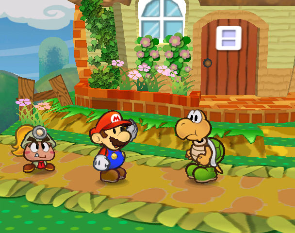 Paper Mario: The Thousand-Year Door Screenshot