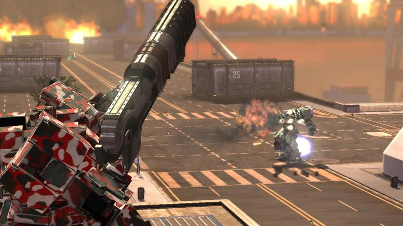 Front Mission Evolved: Weapon Pack 2 Screenshot