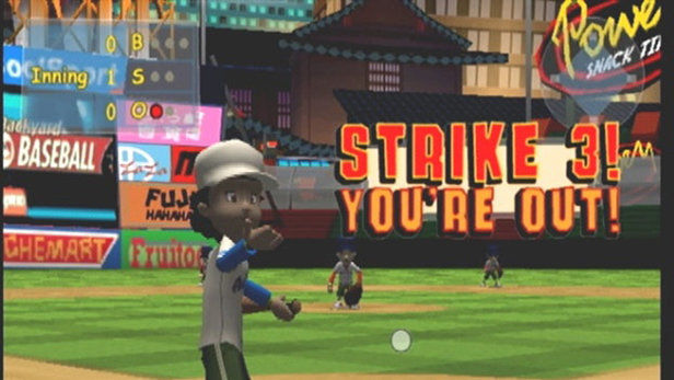 Amazing Backyard Sports: Baseball 2007 Screenshot