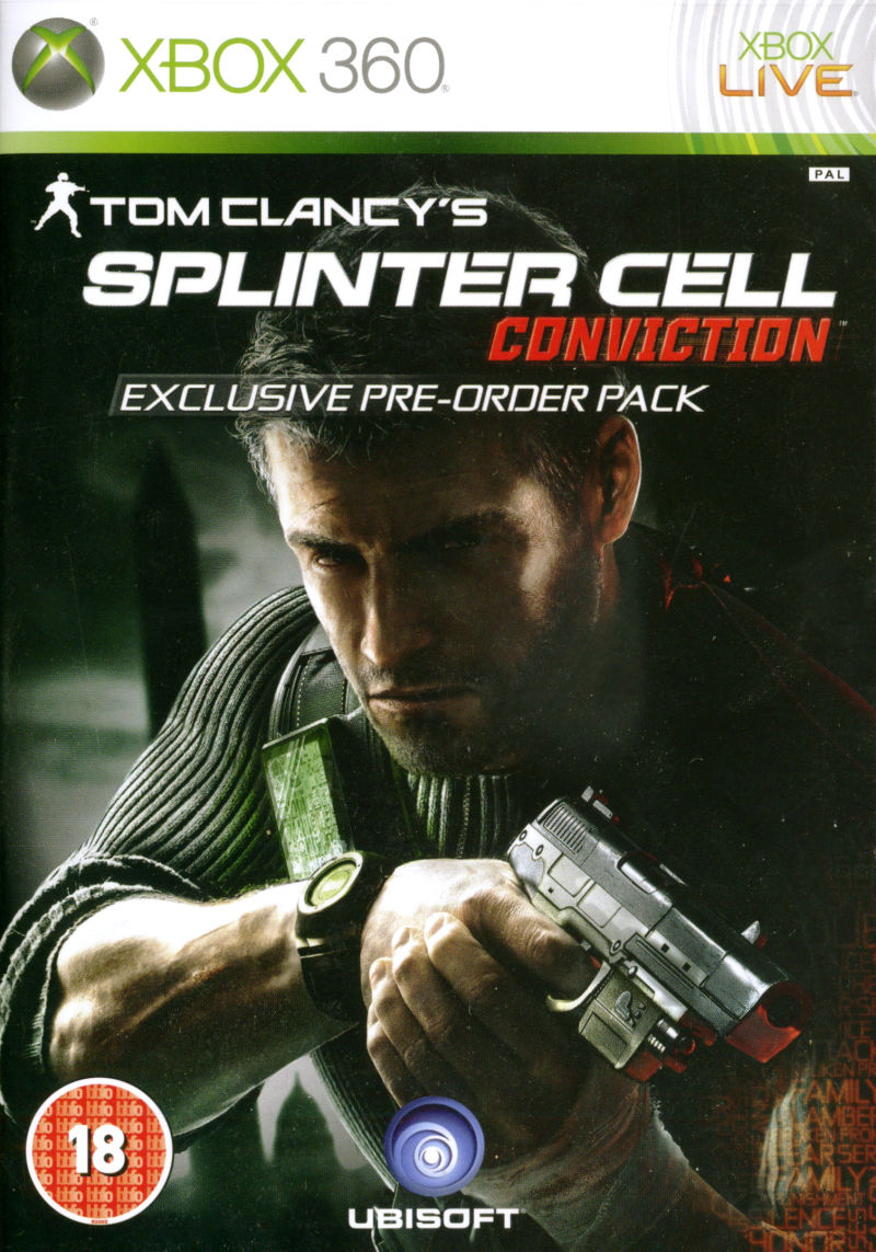 Tom Clancy's Splinter Cell: Conviction Other Front Cover