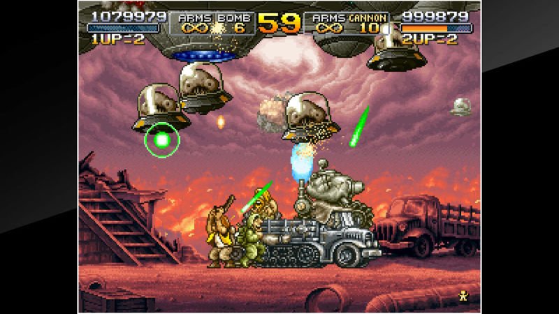 Metal Slug X Screenshot