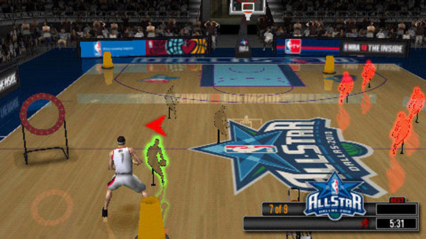 NBA 10: The Inside Screenshot