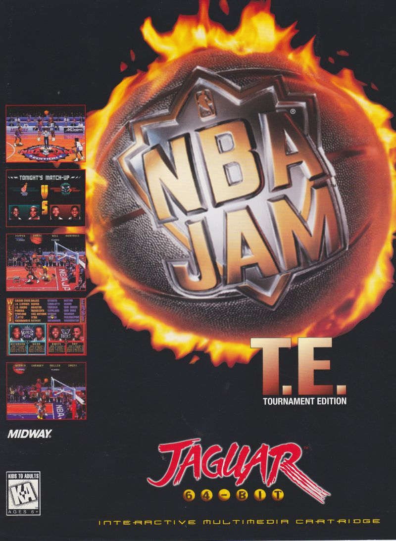 NBA Jam Tournament Edition Other Front