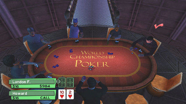 World Championship Poker featuring Howard Lederer: All In Screenshot