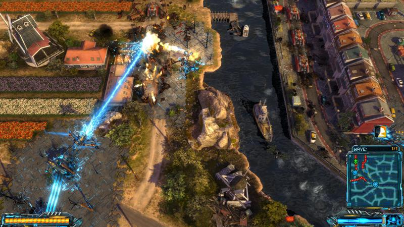 X-Morph: Defense - European Assault Screenshot