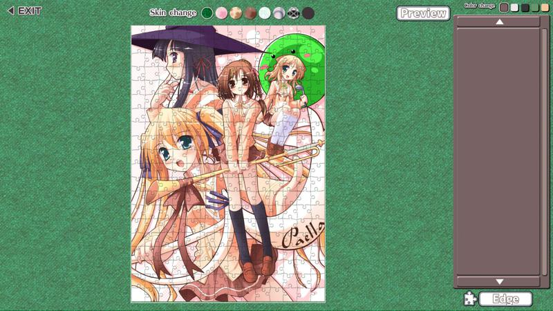 Moe Jigsaw: Happiness! Pack Screenshot