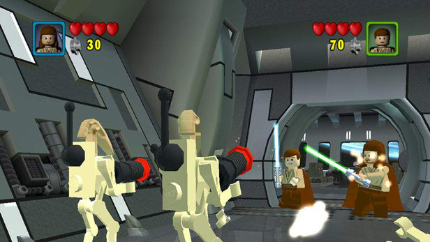 LEGO Star Wars: The Video Game (2005) promotional art - MobyGames