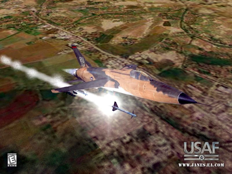 Jane's Combat Simulations: USAF - United States Air Force Wallpaper
