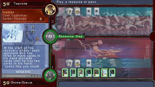 Marvel Trading Card Game Screenshot