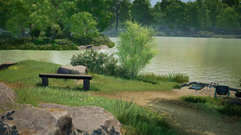 Euro Fishing: Hunters Lake Screenshot