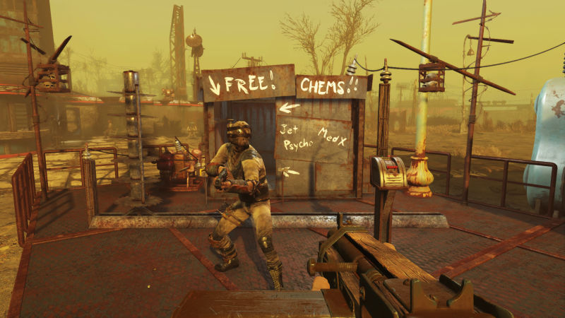Fallout 4: Wasteland Workshop Screenshot