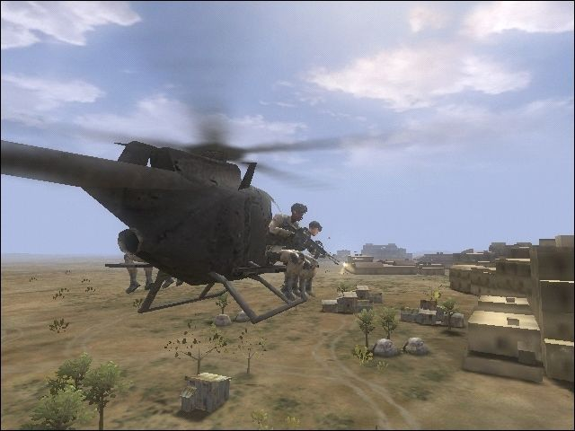 Delta Force: Black Hawk Down Screenshot