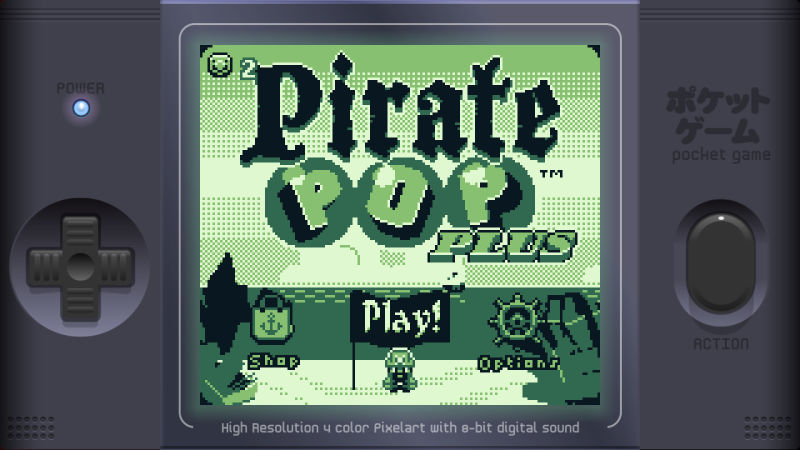 Pirate Pop Plus Screenshot