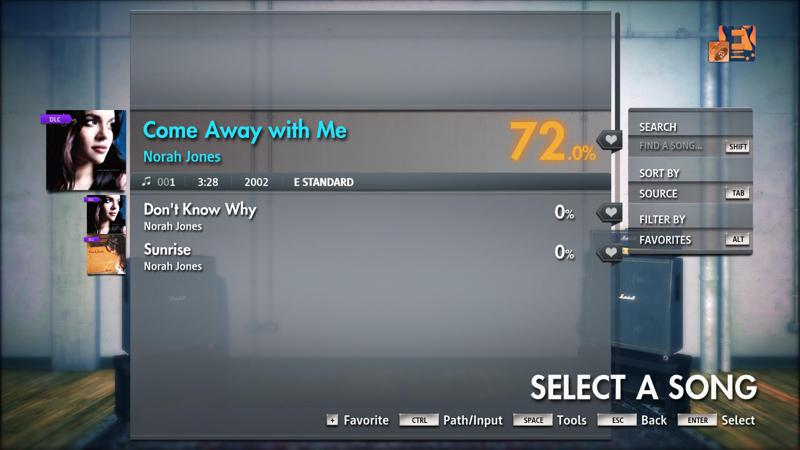 Rocksmith: All-new 2014 Edition - Norah Jones: Come Away with Me 2018 pc game Img-2