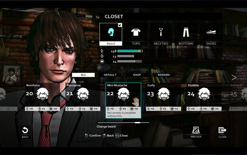 D4: Dark Dreams Don't Die - David's Costume Full Unlock Key Screenshot