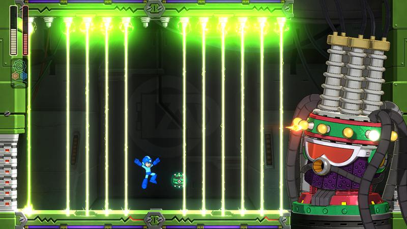 Mega Man 11 (amiibo Edition) Screenshot