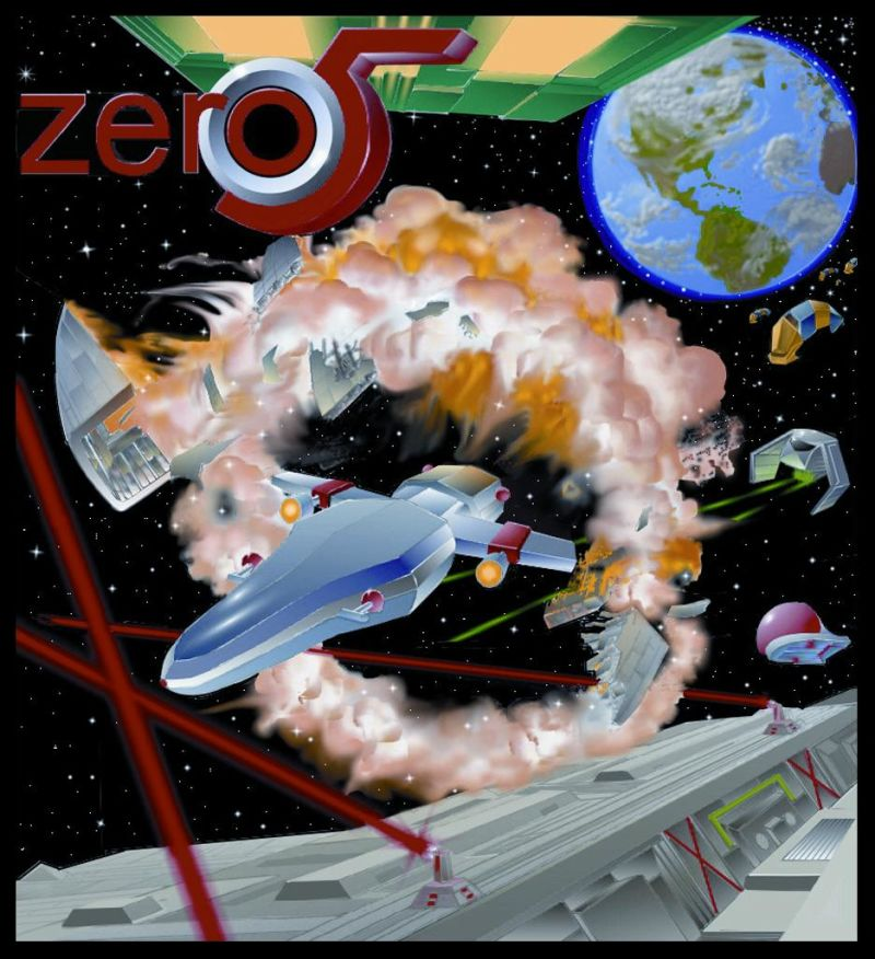 Zero 5 Concept Art This is the actual artwork used in the production of the boxes.