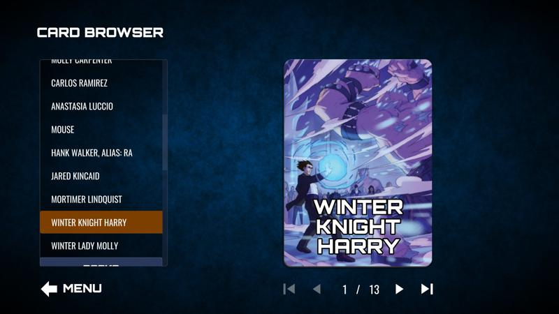 The Dresden Files: Cooperative Card Game - Winter Schemes Screenshot