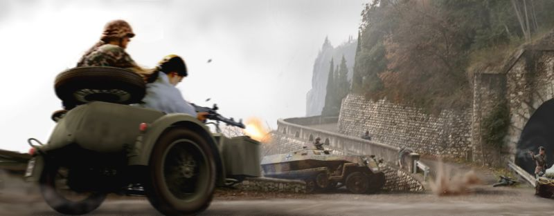 Medal of Honor: Underground Concept Art