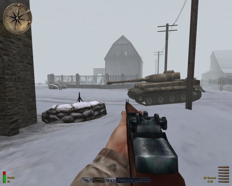 Medal of Honor: Allied Assault - Spearhead Screenshot