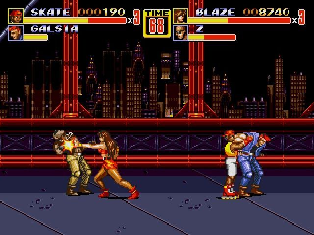Streets of Rage 2 Screenshot
