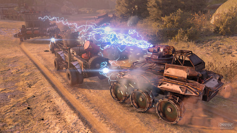 Crossout: Craft Ride Destroy Screenshot