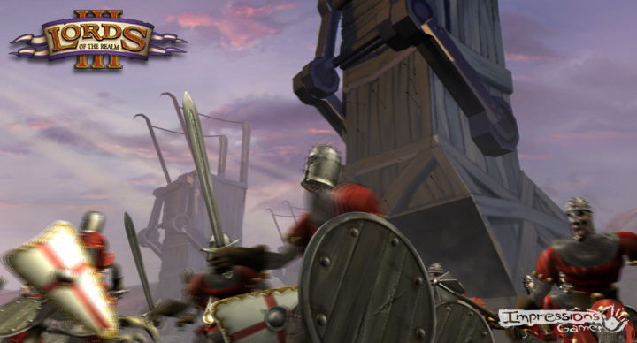 Lords of the Realm III Screenshot