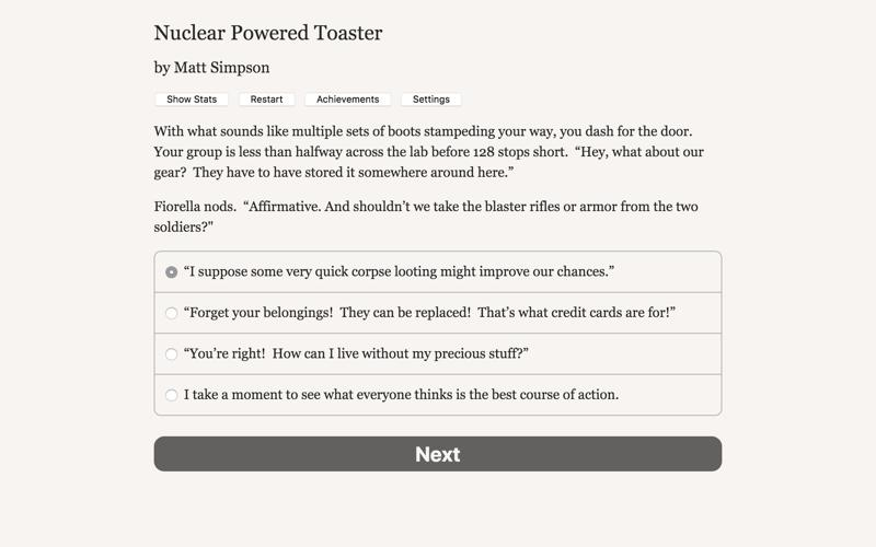 Nuclear Powered Toaster Screenshot
