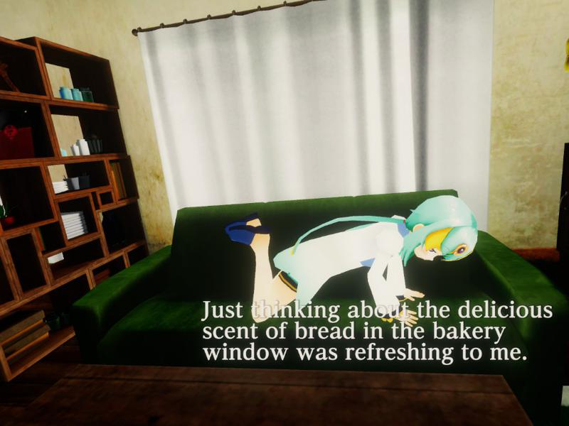 Innocent Forest 2: The Bed in the Sky Screenshot