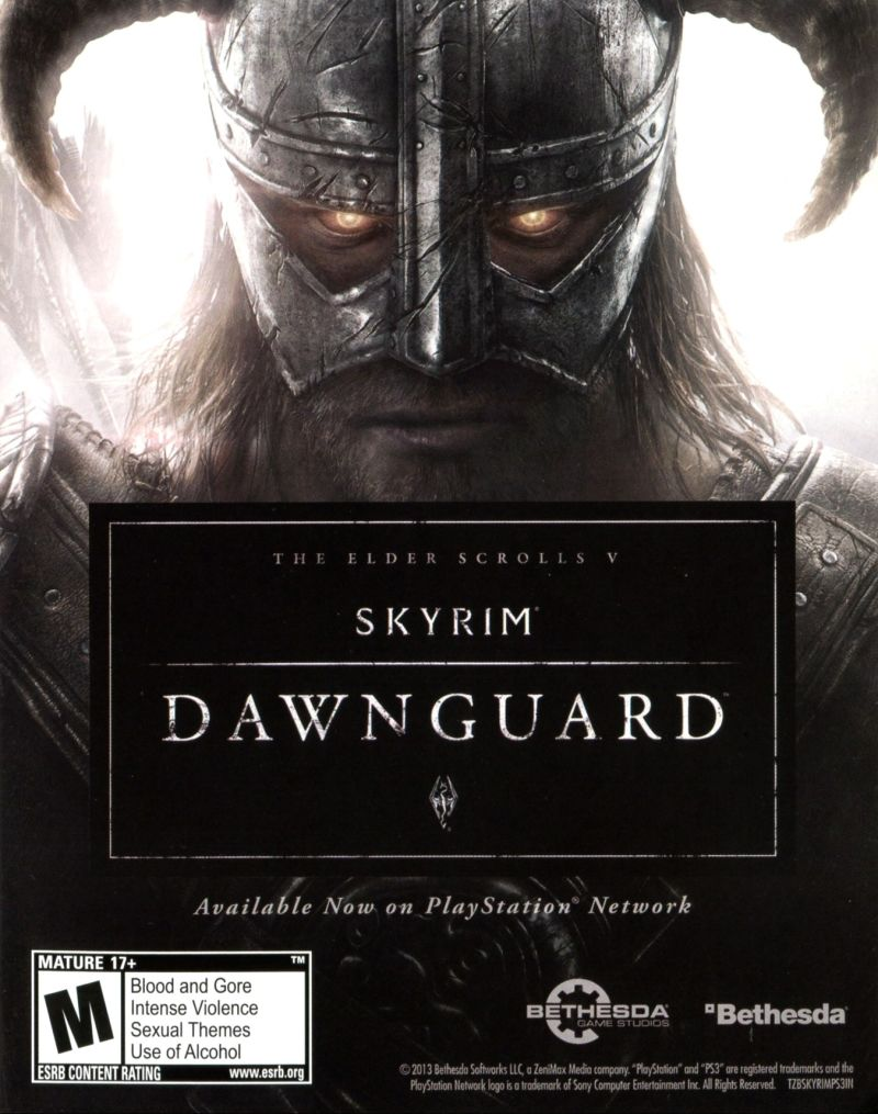The Elder Scrolls V: Skyrim - Dawnguard Other