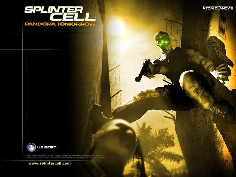 Tom Clancy's Splinter Cell: Pandora Tomorrow Wallpaper