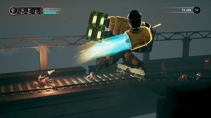 Steel Rats: Wreck and Ride! Screenshot