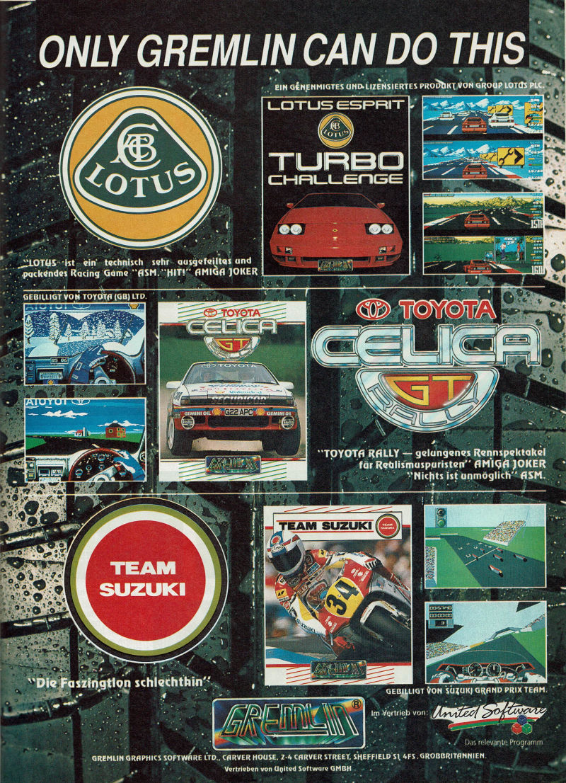 Toyota Celica GT Rally Magazine Advertisement