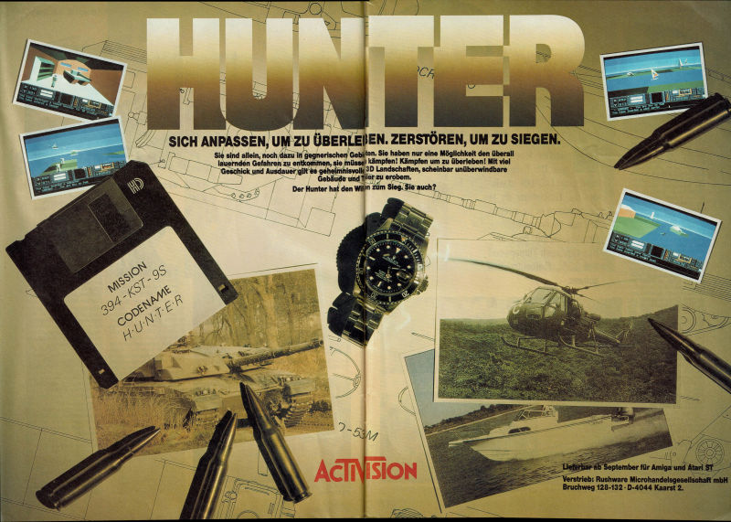 Hunter Magazine Advertisement