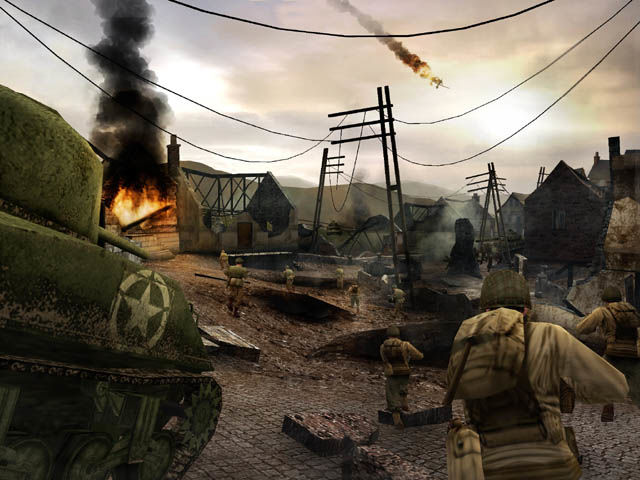 call of duty 2 big red one requisitos