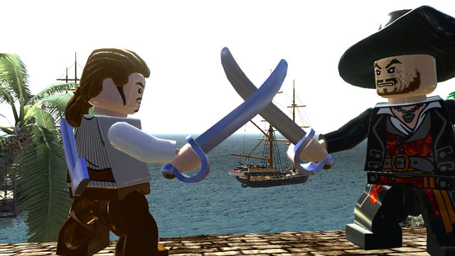 LEGO Pirates of the Caribbean: The Video Game (2011) promotional art - MobyGames