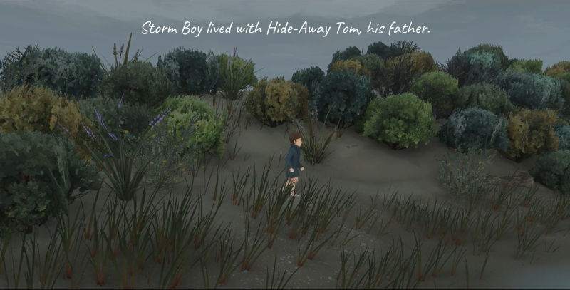 Colin Thiele's Storm Boy: The Game Screenshot