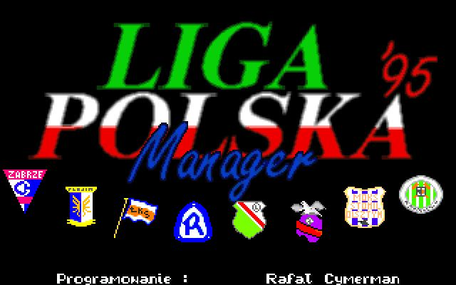 Liga Polska Manager '95 Screenshot