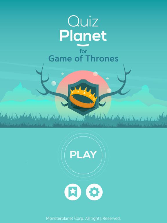Quiz Planet: for Game of Thrones Screenshot