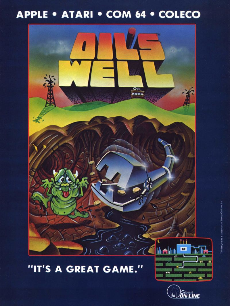 Oil's Well Magazine Advertisement