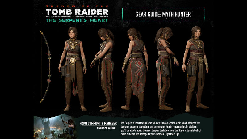 Shadow of the Tomb Raider: Myth Hunter Gear Screenshot