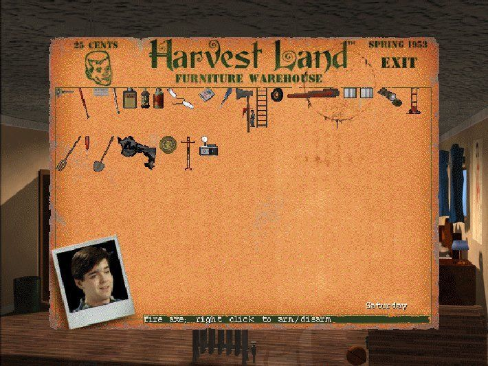 Harvester Screenshot