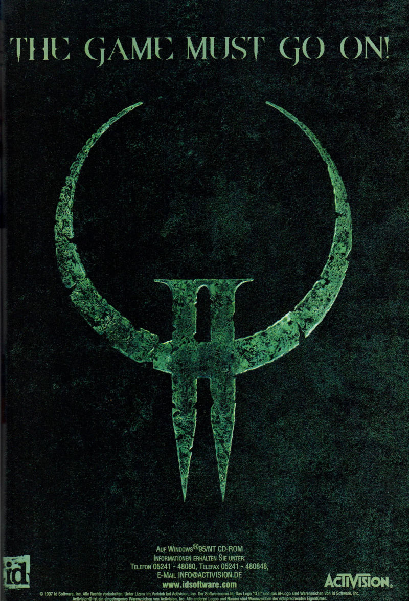Quake II Magazine Advertisement