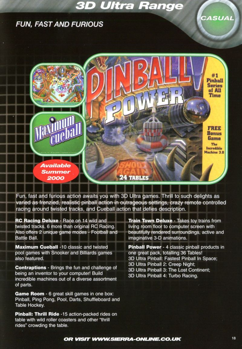 3-D Ultra Pinball: Power! Other