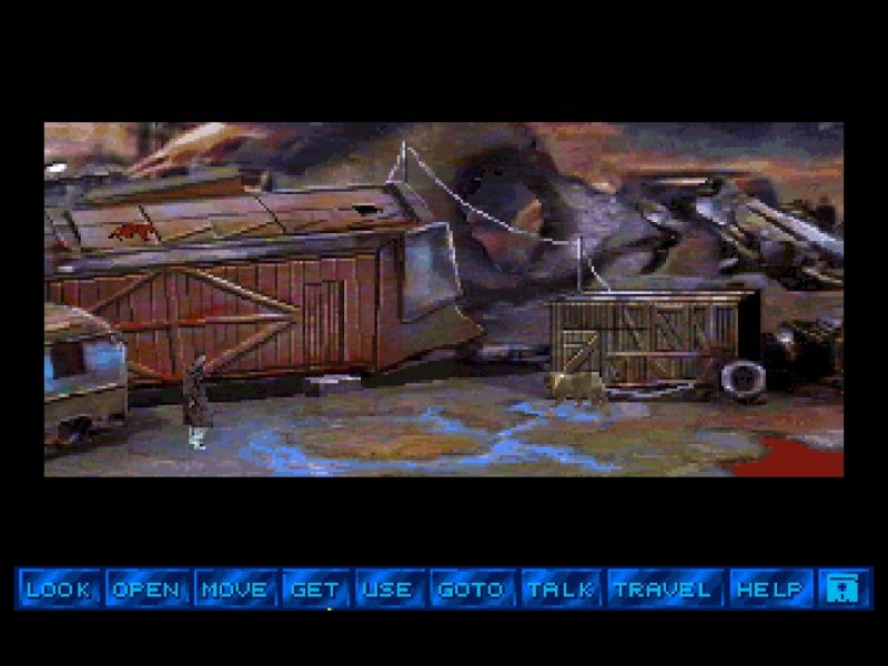 Tex Murphy 2: Martian Memorandum sur PC 52087-martian-memorandum-screenshot