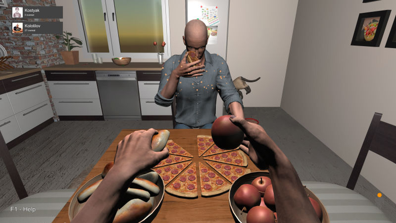 "Hand Simulator Screenshot 27 Apr 2018 : A new level of ""Fast Food"""